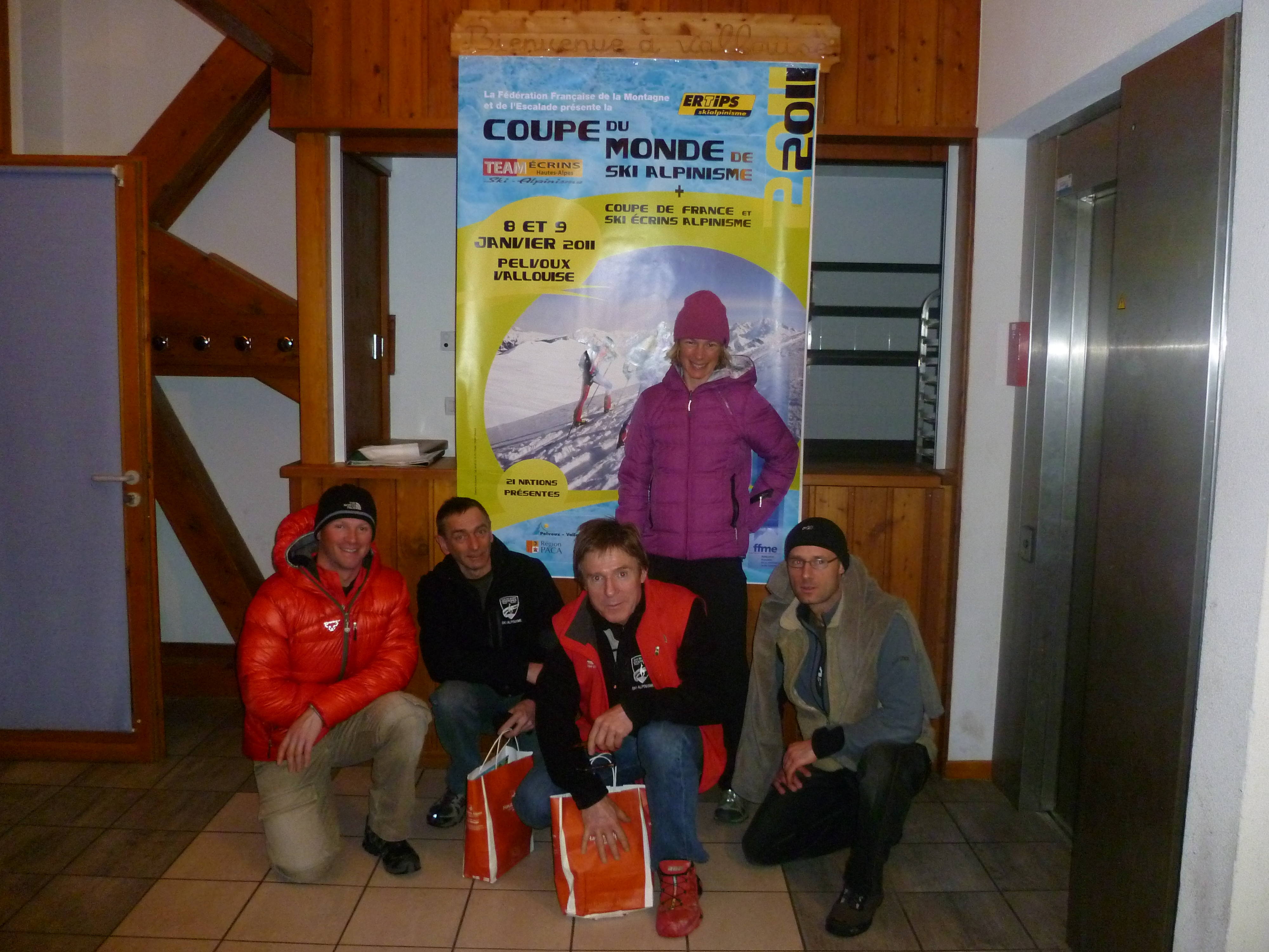 Club Chamonix Ski Alpinisme at Pelvoux