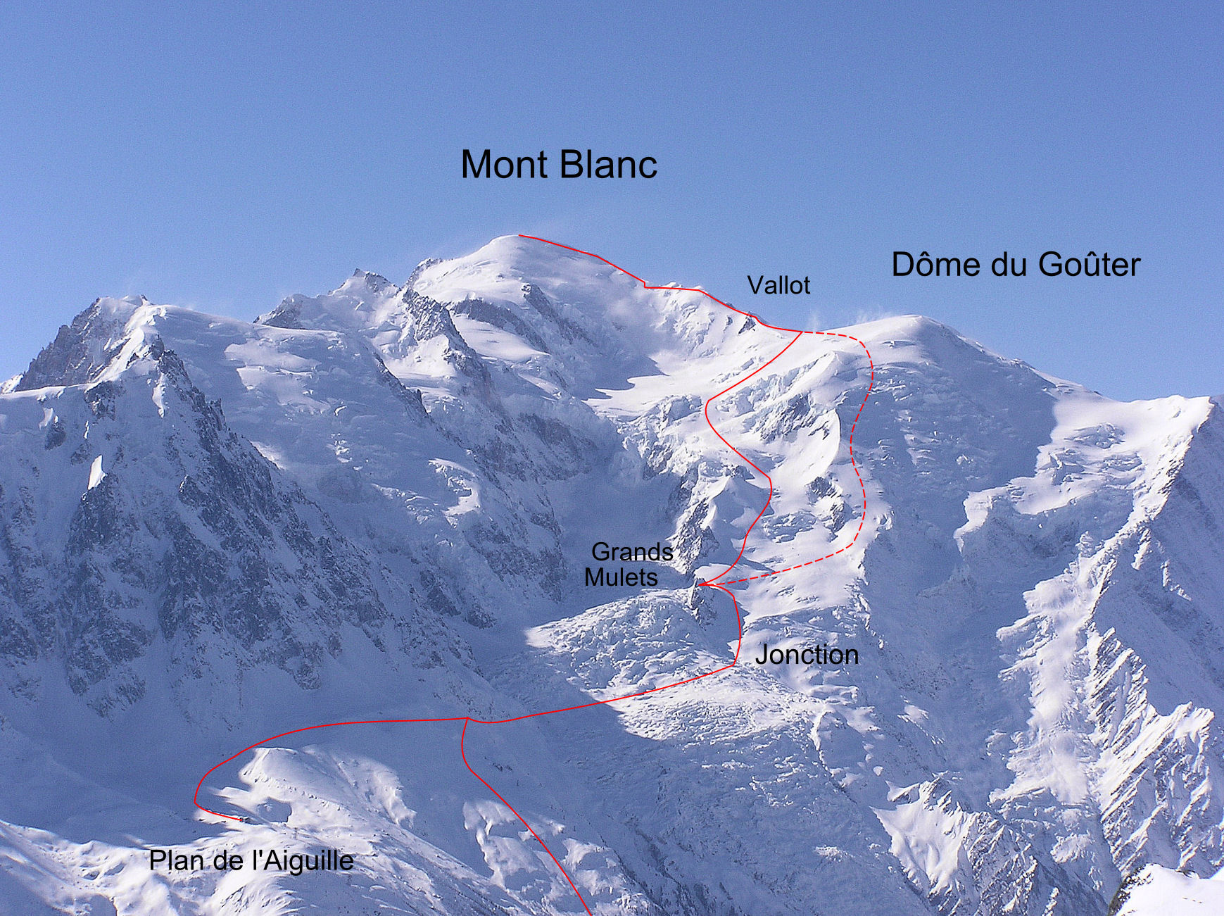 Mission Accomplished Mont Blanc From My House Nina Silitch