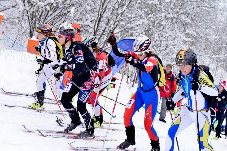 Start of the Womens Final