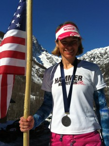 1st North American to Medal in a World Championships! A big thanks to Hammer Nutrition & helping Nina put the HAMMER down in the sprints!