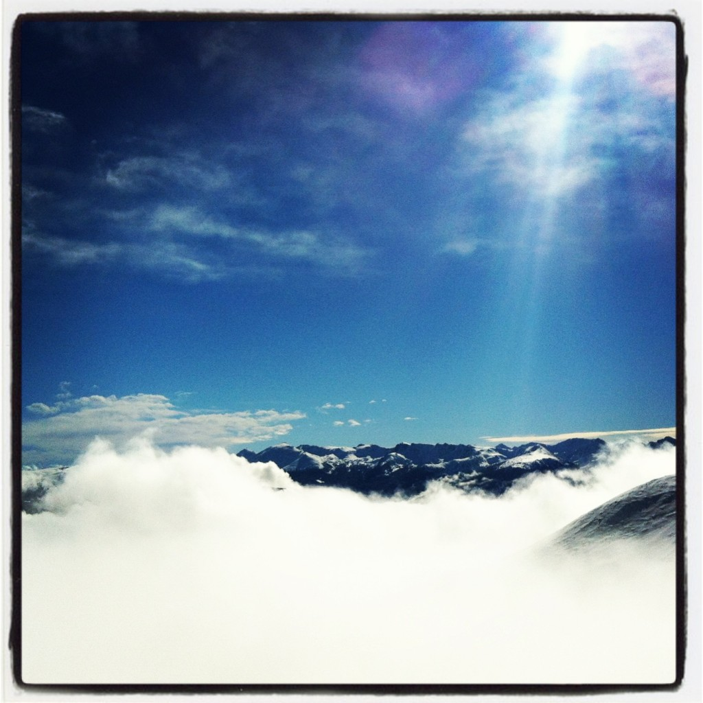 Andorra- On top of the clouds. Keep your goals high!