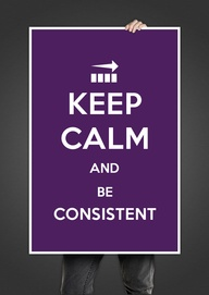 One of my strengths is keeping calm and consistent