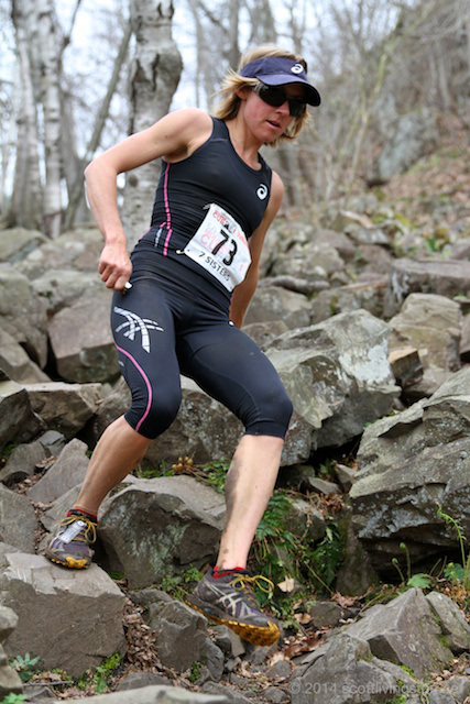 Megan Kimmel, member of the US Mt Running team and the overall winner of the La Sporta Mt Cup for 5 years