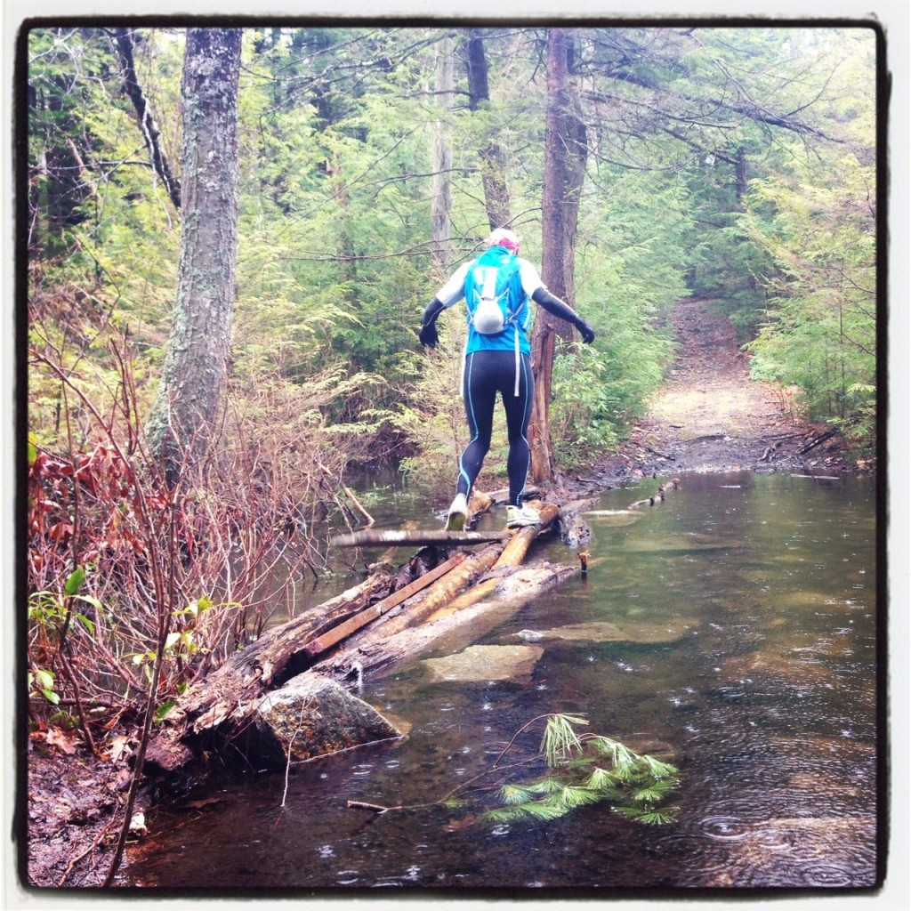 More river crossings on the 2nd half of the course (2nd recon in the rain!)