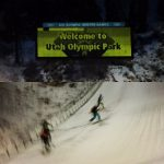 Park City SkiMO Team with the Utah Olympic Park